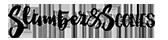 Slumber & Scones black logo