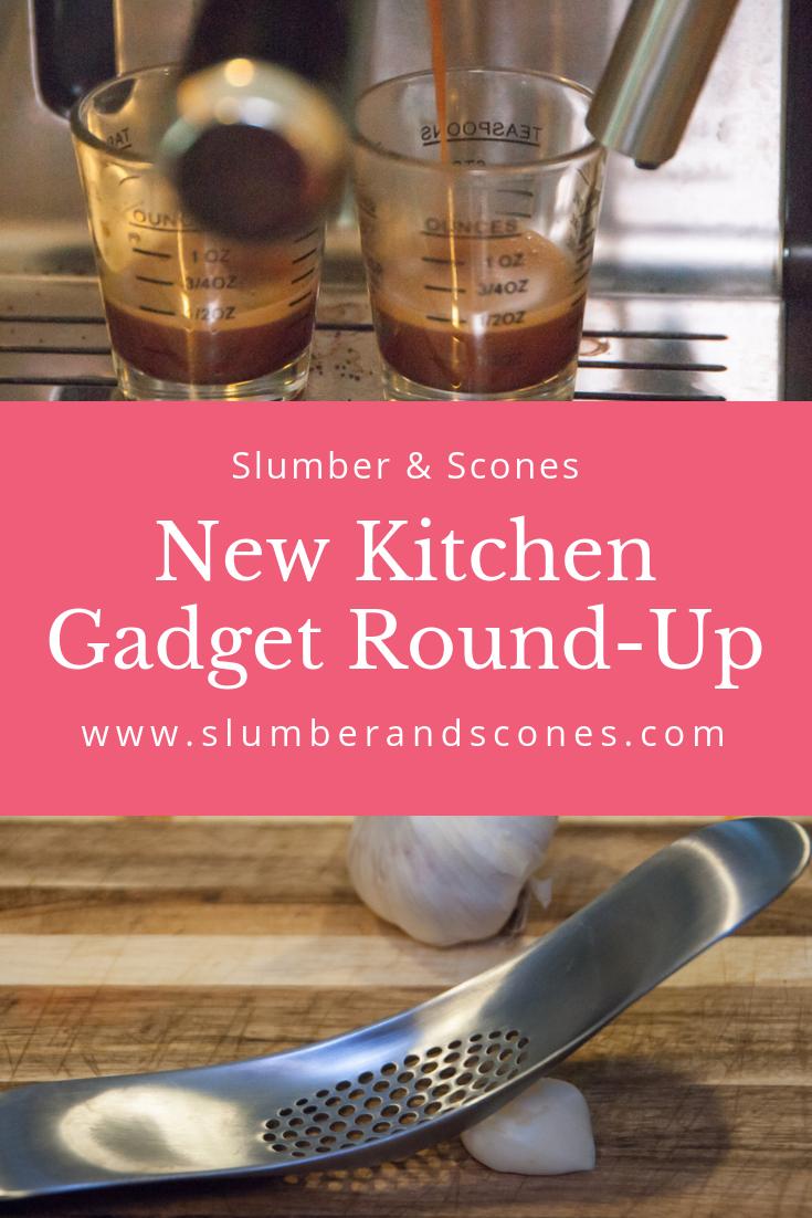 pinterest image for new kitchen gadget round-up