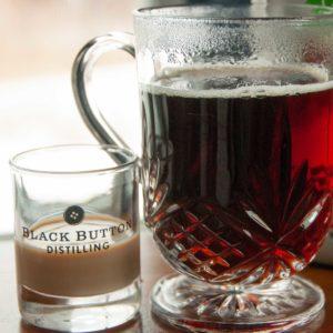 mug of coffee and cream liqueur